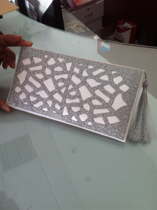 silver Wedding cards