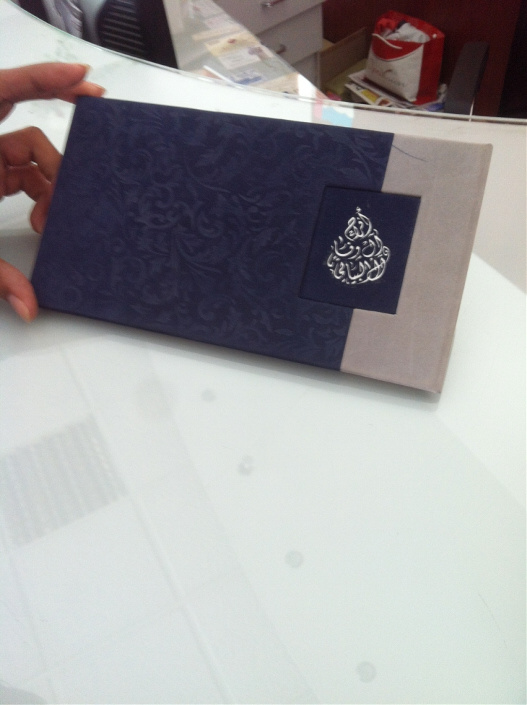 Foiling Wedding cards