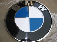 Prismatic Car Logo BMW