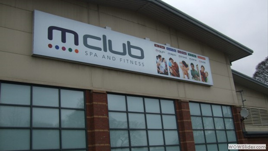 Outdoor Flex Signage