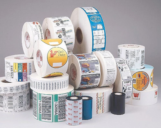 label roll printing