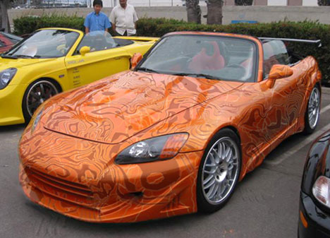 s2000 wrapping