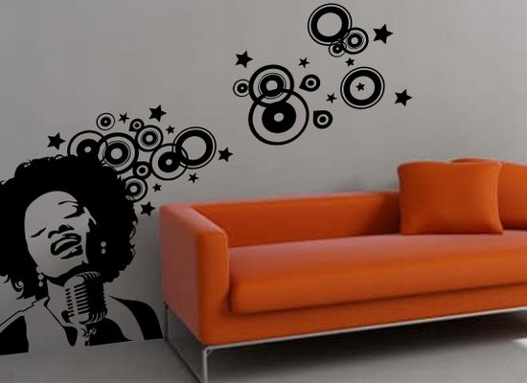 Wall Vinyl Cut Stickers